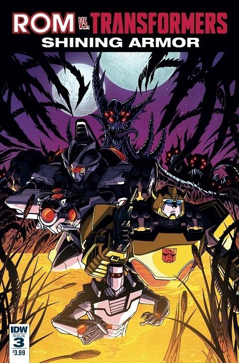 idw rom vs transformers shining armor 3 感想 雑記帳 仮